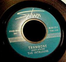 INTRUDERS Trambone / Wild Goose SURF ROCK INSTRUMENTAL 45 original SAHARA Hear