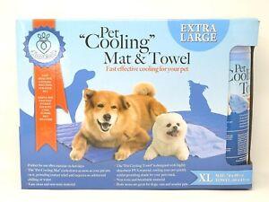 Coco JoJo Pet Cooling Mat & Towel Dog Cat EXTRA LARGE XL 90 x 70cm  NEW & SEALED