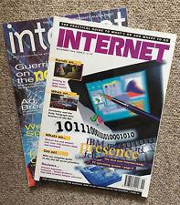"""2 X Vintage Revistas de informática Internet """"noviembre de 1994 y noviembre de 1996"""