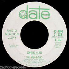 THE WILL-O-BEES-It's Not Easy-Soft Psych Rock Promo 45-DATE #2-1583