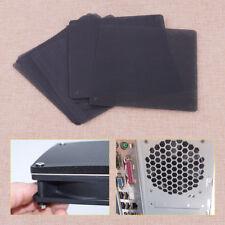 10x Black 140mm PVC Computer PC Dustproof Cooler Fan Case Cover Dust Filter Mesh