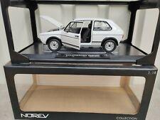 VW Volkswagen Golf 1 GTI weiss limited Edition 1000 Norev 1:18 NEU