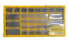 Rolson Plastic Storage Box Drawer Organiser Case with 30 Compartments DIY Tool