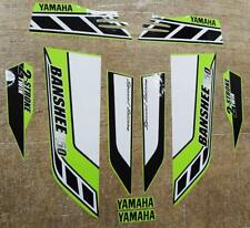 Yamaha banshee quad sticker graphics decals 10pc Special Edition LemonLime/White