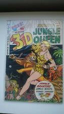 Sheena Jungle Queen 3-D 1953 #1 Comic + 3D Glasses EX Cond