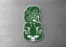 Hei Tiki Aotearoa Maori Sticker 7 yr water & fade vinyl  proof new zealand