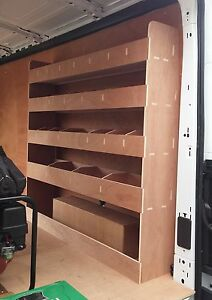 FORD Transit 350 LWB L3 H2 Van Racking, Plywood Shelving, (New Generation)