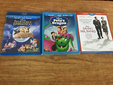 Bedknobs And Broomsticks/Pete's Dragon/Saving Mr. Banks Disney Blu-ray Slip DVD