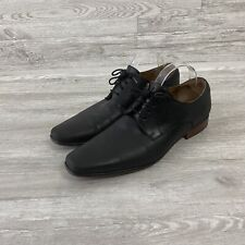 Florsheim Black genuine leather Oxford Dress Shoe Mens