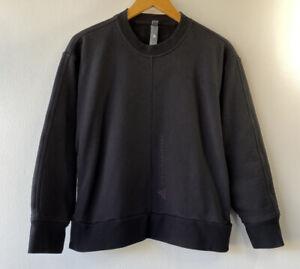 Adidas By Stella Mccartney Women's Small Essentials Pullover Sweatshirt Black