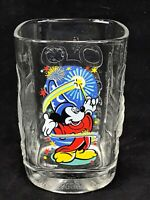 2000 Millennium Walt Disney World McDonald Glass Cup Epcot Mickey Mouse