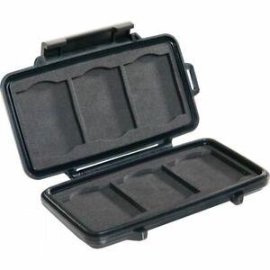 Peli Micro Case 0945 für CF Speicherkarten schwarz Fotokoffer Kamerakoffer NEU