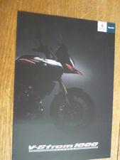 Suzuki V STORM 1000 moto Brochure, 2013 Post Gratuit (UK)