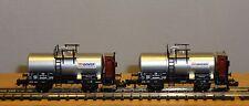 Fleischmann N 843707 2-piece tank cars set Isover DB NEW IN ORIGINAL BOX