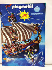 NEW Playmobil 2001 2002 German TOYS USA  FULL Color CATALOG With ADD ONS Catalog