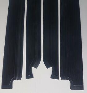 Mercedes Benz W108 Door Sill Rubber Mat Cover BlackFOR  250S 250SE 280S 280SE