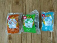 Disney House of Mouse Mickey Mouse McDonald's Happy Meal Toys 2001 LOT OF 3