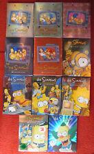 THE SIMPSONS DVD Box Sets Season Staffel 1-11 1 2 3 4 5 6 7 8 9 10 11 sealed