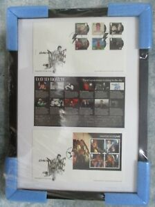 Royal Mail David Bowie Stamps Ultimate Framed Tribute Limited Edition- 14/03/17
