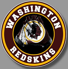 Washington Redskins Vinyl Sticker Decal 9 Different Size Car Window NFL football