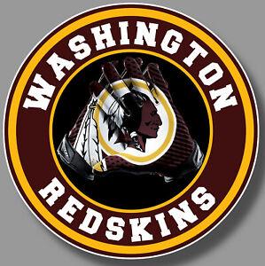 Washington Redskin Vinyl Sticker Decal 12 Different Size Car Window NFL football