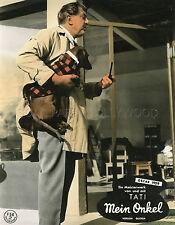 JACQUES TATI MON ONCLE 1958 VINTAGE LOBBY CARD #21