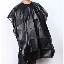 Black Hot Waterproof Salon Barber Coloring Hairdressing Gown Hair Cut Cape Scarf