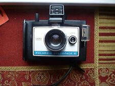 Vintage Polaroid Colorpack III Land Camera with Flashcubes, Case and Manual