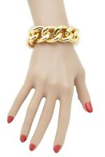 New Women Gold Metal Chunky Chain Thick Links Hip Hop Fashion Jewelry Sexy Style