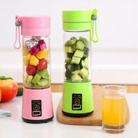 Portable Electric Fruit Bottle  Smoothie Maker USB Rechargeable Juice Blender