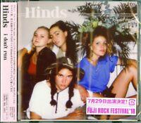 HINDS-I DON'T RUN-JAPAN CD BONUS TRACK E78