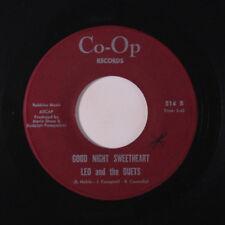 LEO & DUETS: Good Night Sweetheart / Down The Aisle 45 (xol) Soul