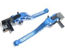 Suzuki Gsxr1000 2005-2006 k5-k6 Freno Y Embrague Palancas Azul Pista De Carreras Road s14o