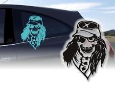 Auto Aufkleber Skull Konföderation Sticker 45 cm PKW Folie KFZ