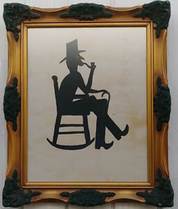 VINTAGE BILL TRAYLOR  SIGNED DRAWING AMERICAN OUTSIDER ART