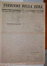 9 agosto 1943 Guerra in Sicilia Caronie e all Etna Bielgorod Orel Stalin Milano