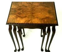 Vintage Walnut Nest of Three Tables by Cameo Furniture [5641]