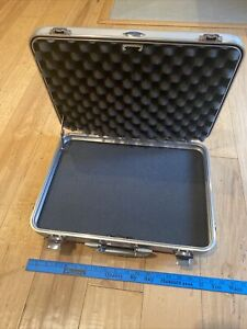 Zero Halliburton Aluminum Briefcase w/ Foam Inserts (18 x 13 x 4.5 inches)