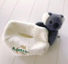 Tissue Box Cover with Plush Koala from Australia