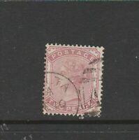 Malta, GB Used in, 1880 2d Pale Rose, Part Malta cds & A25 cancel, SG Z93