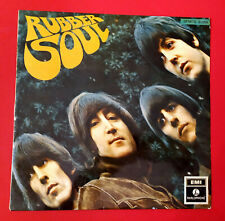 """THE BEATLES (33 RPM - ITALY) S.PMCQ 31509  """"RUBBER SOUL"""" (DOUBLE NUMBERING) 1969"""