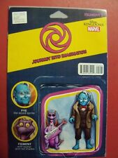 DISNEY KINGDOMS:FIGMENT 2 #2, ACTION FIGURE VARIANT COVER (9.4 NM Or Better)