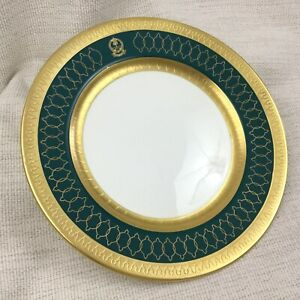 Dinner Plate Saudi Arabian State China Royal Military Porcelain King Abdullah