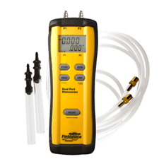 Fieldpiece SDMN5 Manometer | Dual-Port, Gas & Static Pressure Differential