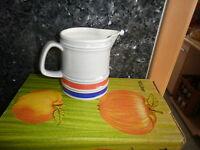 Keramik Milchkanne, Kakaokanne, Krug, Kaffeekanne 0,75l