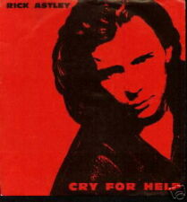 RICK ASTLEY 45 TOURS GERMANY CRY FOR HELP