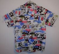 "SEA & SUN Hawaii shirt UK L US M   44"" 112 cm HAY87"