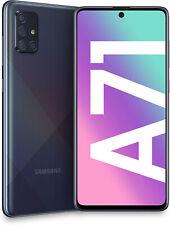 """Nuevo Samsung Galaxy A71 Dual Sim SM-A715F Negro 6.7"""" LTE 128GB Desbloqueado de fábrica"""