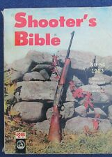 1963 Shooter's Bible No 54 Edition Stoeger 578 Pages VG