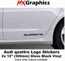 2X AUDI RS4 High quality Skirt Decals Stickers TTRS RS3 RS5 RS6 RS7 RS8 Quattro